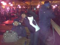 Team Luchetta beim Nightflow in Fiss
