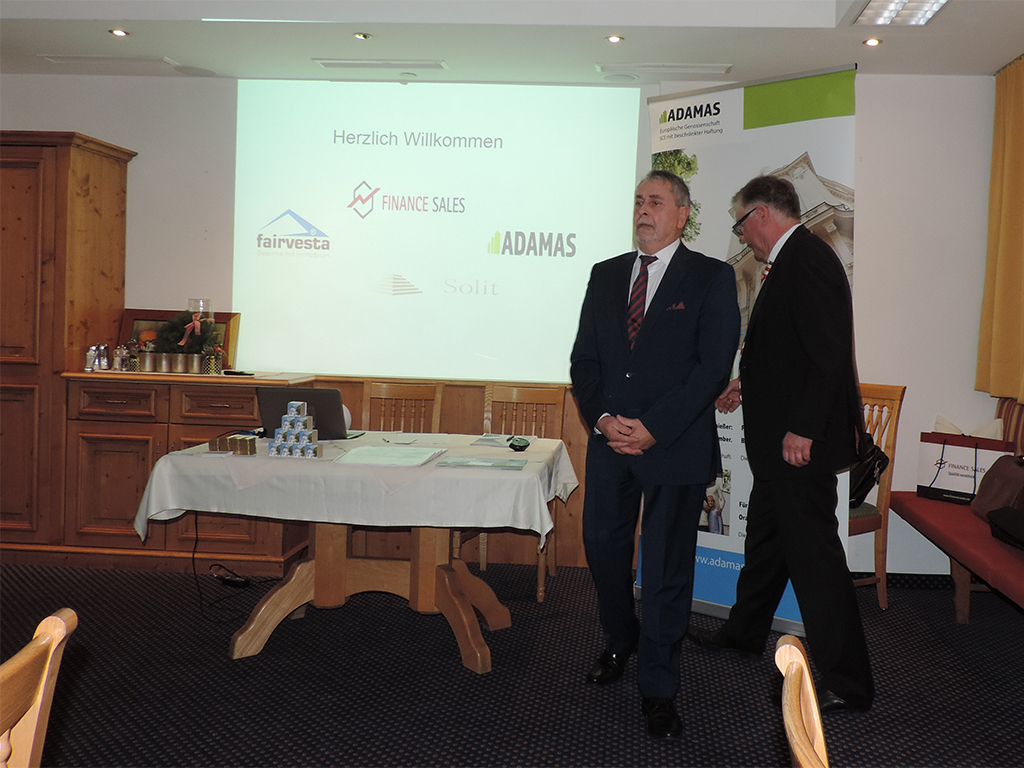 Vortrag Investments im Hotel Enzian in Landeck